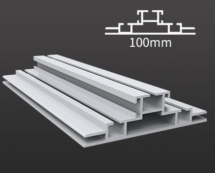 HBMCD-100双面卡布铝型材