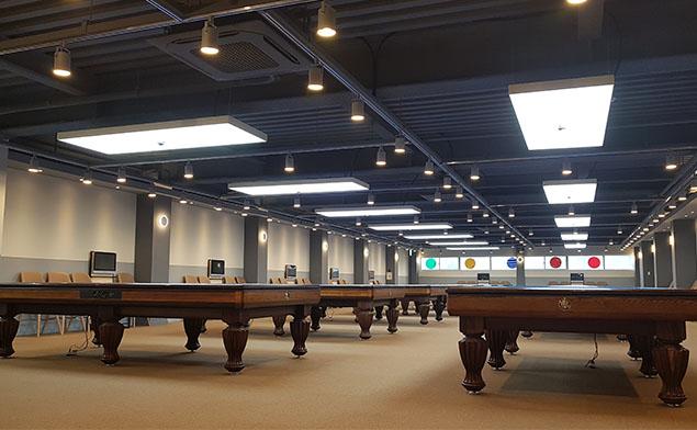 博物馆吊顶室内装饰之软膜广告灯箱