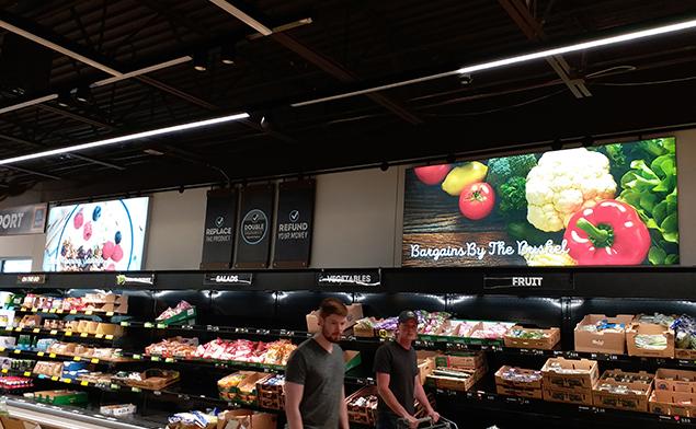 美国阿尔迪超市卡布灯箱解决方案