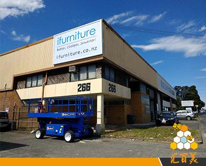 新西兰外墙工程拉布灯箱