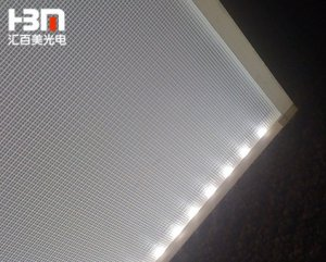激光雕刻划线 打点导光板 高亮丝印导光板 异形导光板可订做